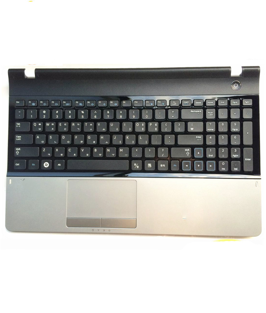 Silver FOR Samsung NP300E5A 300E5C 305E5A 305E7A C shell with touchPad keyboard laptop shell plamrest for samsung qx410 qx411 laptop keyboard with c shell
