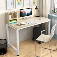Simple Modern Office Desk Portable Computer Desk Home Office Furniture Study Writing Table Desktop Laptop Table