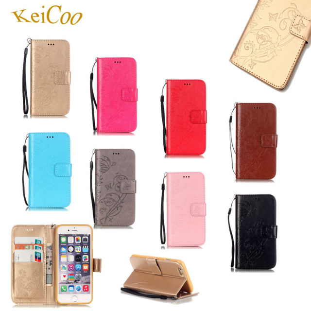 Brand Embossing Butterfly PU Leather Phone Cases For SAMSUNG Galaxy S2 GT-i9100 Wallet Book Flip Covers Galxi S 2 Stand Magnetic