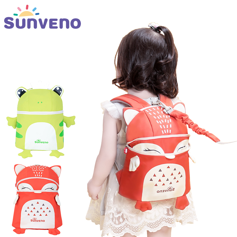 New SUNVENO Toddler  Baby Harness Backpack Cute Baby Backpack Fashion Children Backpacks 3D Animal Prints mochila High QualityNew SUNVENO Toddler  Baby Harness Backpack Cute Baby Backpack Fashion Children Backpacks 3D Animal Prints mochila High Quality