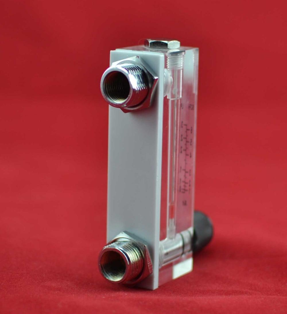 LZM-6T 10-100LPM / 20-200SCFH tipo de panel medidor de flujo - Instrumentos de medición - foto 4