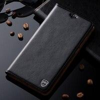 Genuine Leather Cover Case For ZTE AXON 7 Mini 5 2 Luxury Flip Stand Mobile Phone