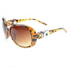 905251d6225066 2019 nouvelle mode 18 MM bouton-pression lunettes de Soleil Dames Élégantes  Oculos Lentille Ovale Vintage accessoires lunettes l.
