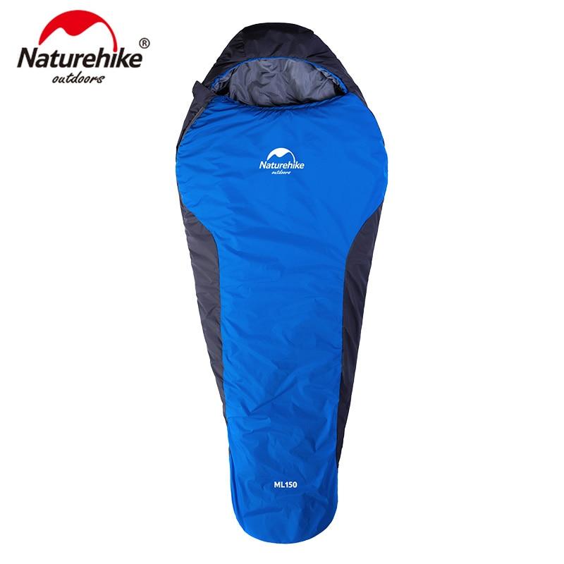 Naturehike Saco de Dormir Múmia Ultralight Camping & Caminhadas Para O Inverno Outono NH15S013-D