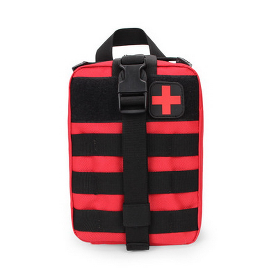 by dhl or fedex 20pcs Travel First Aid Kit Tactical Medical Bag Multifunctional Waist Pack Camping