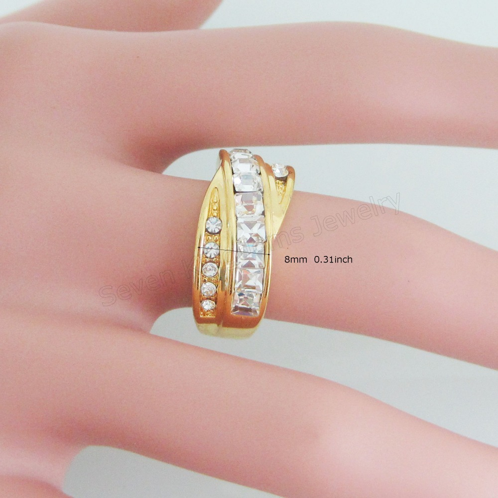 MIN ORDER 10$ CAN MIX DESIGN /MEN LADY YELLOW GOLD SOLID GP FILLED ...