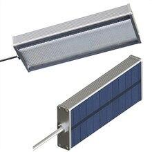 Solar Sensor 48 LED Lamp 100W Highlight Waterproof Outdoor Wall Lamp Security Spot Light By Microwave Radar Motion