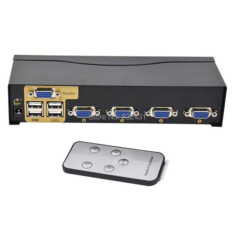 4 Port Smart USB KVM Switch 9