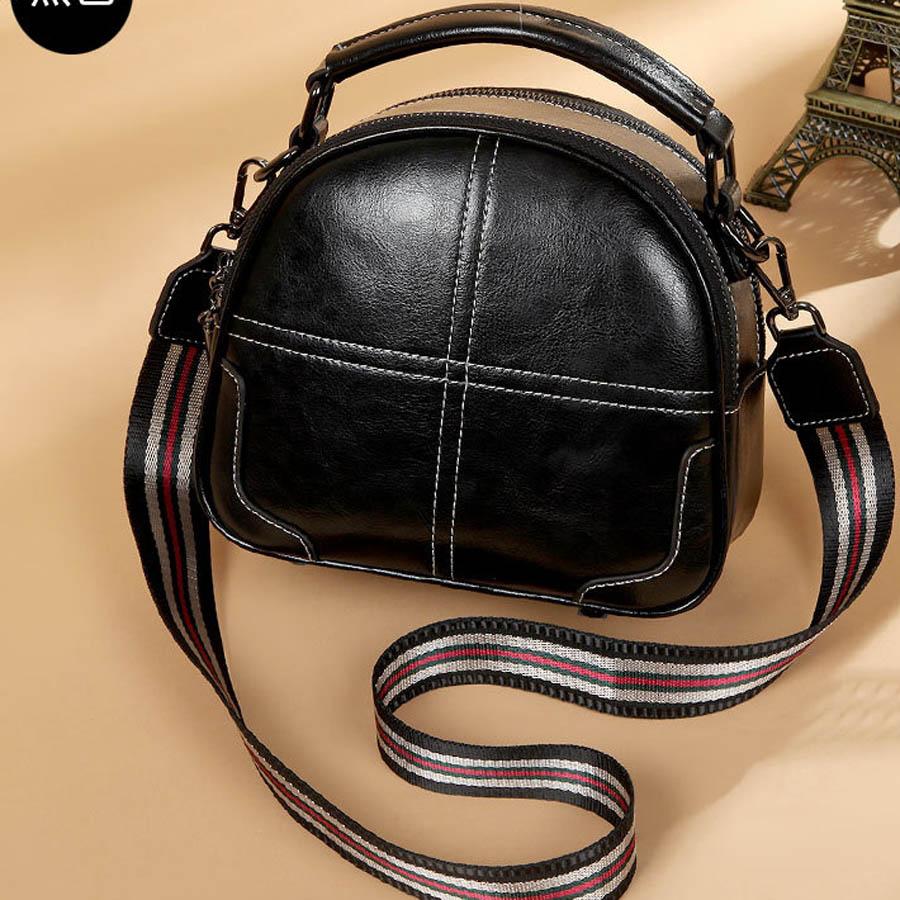 Qualité Main brown Black Version Femmes Offre Véritable À Zipper En Spéciale Top Messenger Cuir green Sac Coréenne D'épaule qHwTdqx7