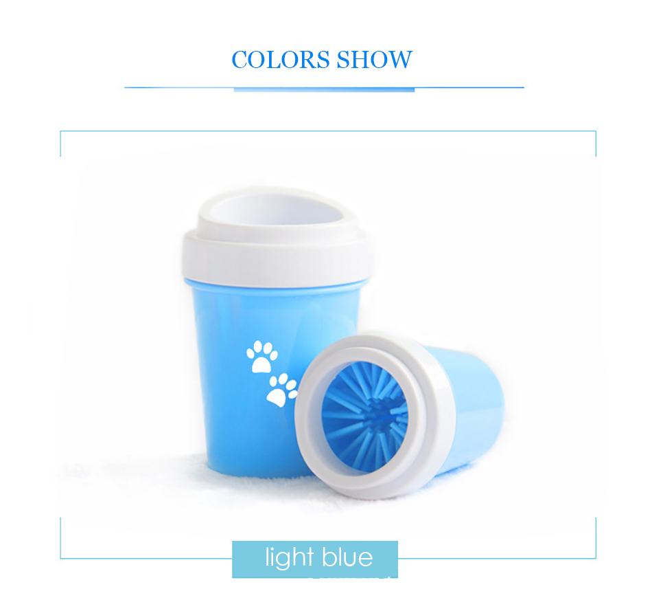 Portable Silicone Dirty Dog Paw Cleaner 19 » Pets Impress
