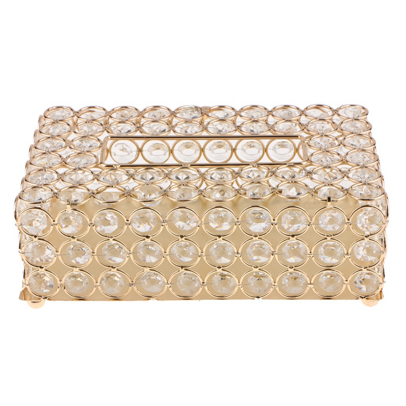 Promotion! Crystal Facial Tissue Box Holder Crystal Square Napkin Dispenser Bedroom Office Hotel Cafe Coffee House Bar