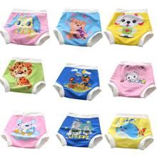 Leakproof Cloth Diaper For Baby Swim Girl&boy Swimwear Pants Washable Swimming Board Shorts Cartoon Swimsuit