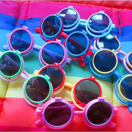 Flip Shade Sunglasses  aliexpress com baby glasses frame child circle sunglasses