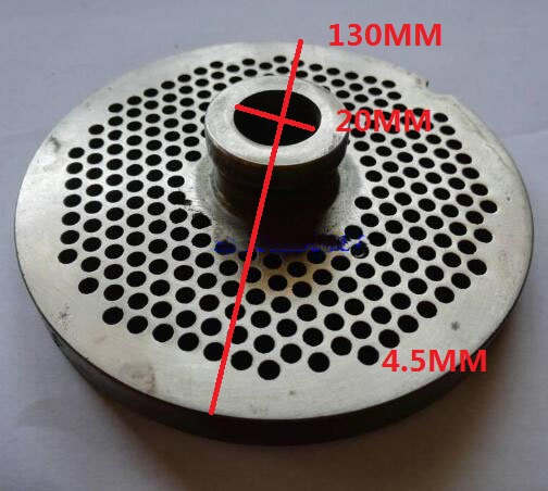 Meat Grinder Parts No.42 Stainless Steel Round Hole plates 4.5mm holeMeat Grinder Parts No.42 Stainless Steel Round Hole plates 4.5mm hole