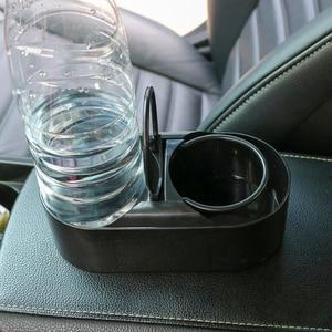 Image 2 - Forauto dupla buraco bebida garrafa de água suporte de copo suporte do caminhão carro montagem abs universal estilo do carro acessórios automóveis