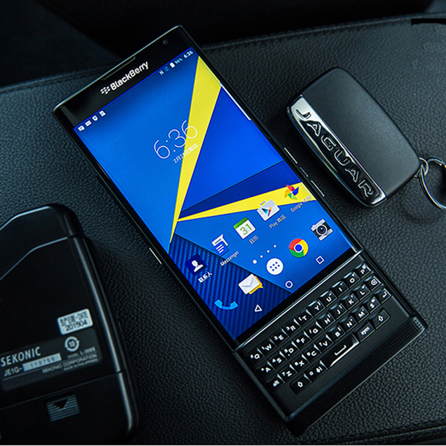 US $232 86 |Unlocked Original blackberry Priv mobile phone slider 5 4 inch  18 MP camera 3G RAM +32GB ROM 4G Android ,Free DHL EMS shipping-in