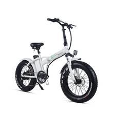 20 дюймов Электрический горный велосипед 48 V литиевая батарея 500 w Мощный мотор и легко подняться складной снег электровелосипед с толстыми покрышками