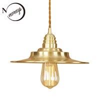 Ferro pintado estilo Nórdico moderno pingente lâmpada 220 V E27 DIODO EMISSOR de LUZ simples decoração de suspensão luminária quarto restaurante bar do hotel|Luzes de pendentes| |  -