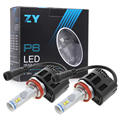 Car Vehicle LED with Philips 55W 5200LM H8 H9 H11 4PCS Philips LED Chips Headlight Bulbs Conversion Kits 6000K White