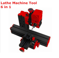 High Quality DIY Mini Lathe Machine 6 in 1, DIY Mini Micro Lathe Machine Tool 6 in 1, For Wood and Soft Metal