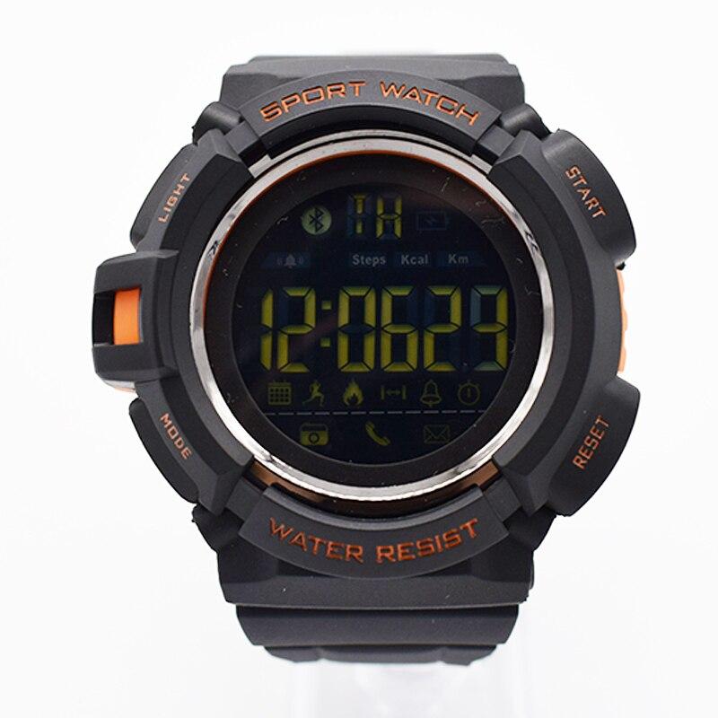 Orange Водонепроницаемые наручные электронные часы для мужчин digitais часы Бег мужские человек digitales часы тенденция Бег плавать Многофункционал…
