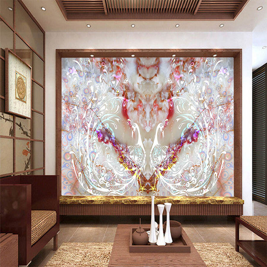 Living Room Wall Papers Part - 46: Chinese Classical Floral 3D Room Photo Wallpaper For 3d Livingroom Wall  Paper Natural Landscape Prints Kids Wall Mural Rolls-in Wallpapers From  Home ...