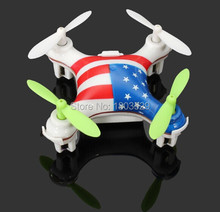 Free Shipping Wltoys V676 helicopter 2.4G 4CH 6-axis Gyro Nano-sized RC Quadcopter Mini Drone with Headless Mod  VS CX10 X12