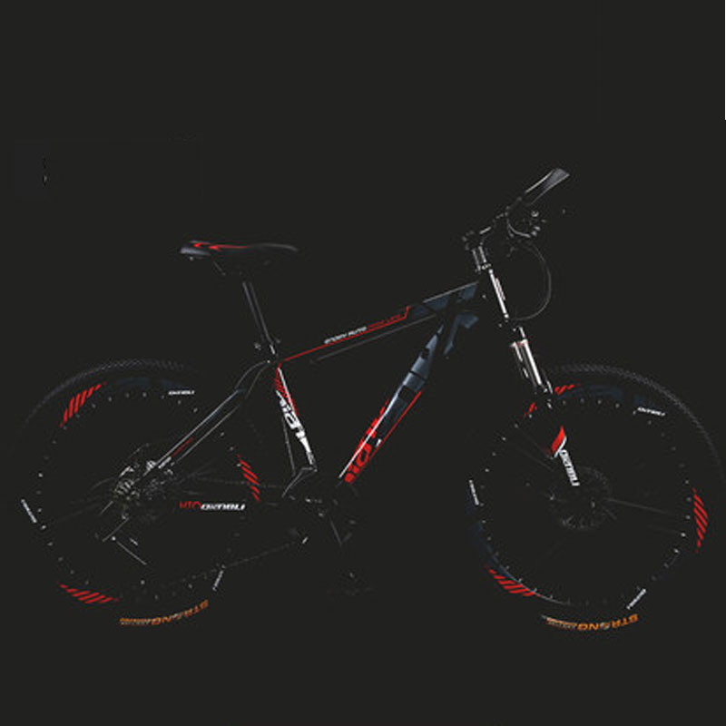 Best Seller Mountain Bike Aluminum Alloy Damping Double Disc Brakes New Bicycle Variable Speed Men And Women
