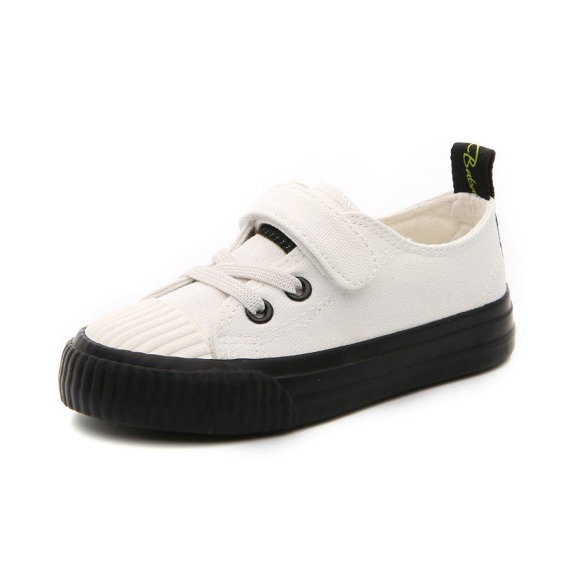 2018 Spring New Kids Shoes For Girls Children Sport Shoes Black In Children's Shoes Student Fashion Running Shoes Boys sneakers