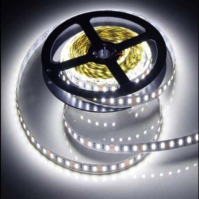 <font><b>12</b></font> V 120 LED/m <font><b>5</b></font> m /lot 2835 LED strip flexible light white warm white green yellow red blue 2835 no-waterproof led strip image