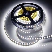 12 V 120 LED/m 5 m /lot 2835 LED strip flexible light white warm white green yellow red blue 2835 non-waterproof led strip