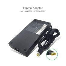 20 V 11.5A USB ноутбук адаптер переменного тока ADL230NDC3A Питание для lenovo THINKPAD P70 Мобильная рабочая станция THINKPAD P50