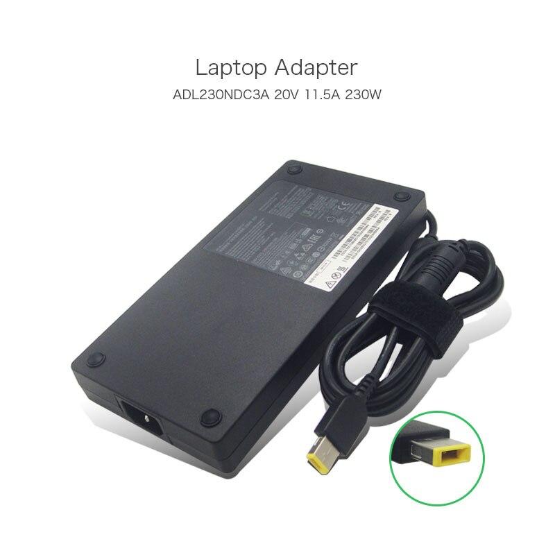 100% Original 20 V 11.5A USB ordinateur portable adaptateur secteur ADL230NDC3A alimentation pour Lenovo THINKPAD P70 poste de travail MOBILE THINKPAD P50