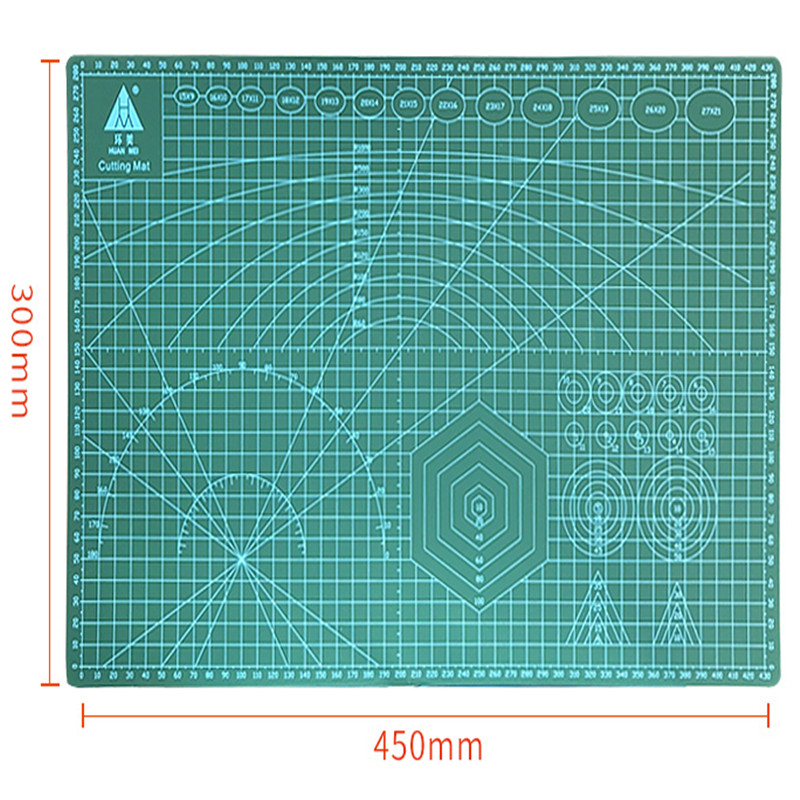 A3 Paper-cut Artwork Stereotypes Cutting Pads Engraving Plates Knife Pads Knife Blades Carving Tools