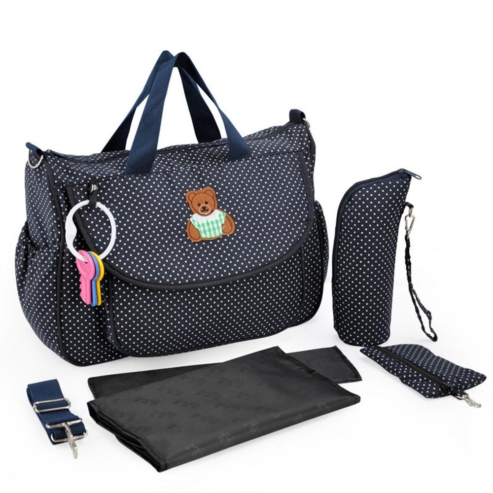 Baby Stroller Bag Large Space Maternity Bags Baby Mummy Waterproof Shoulder Diaper Infant Bag Big Capacity Multifunctional T0043