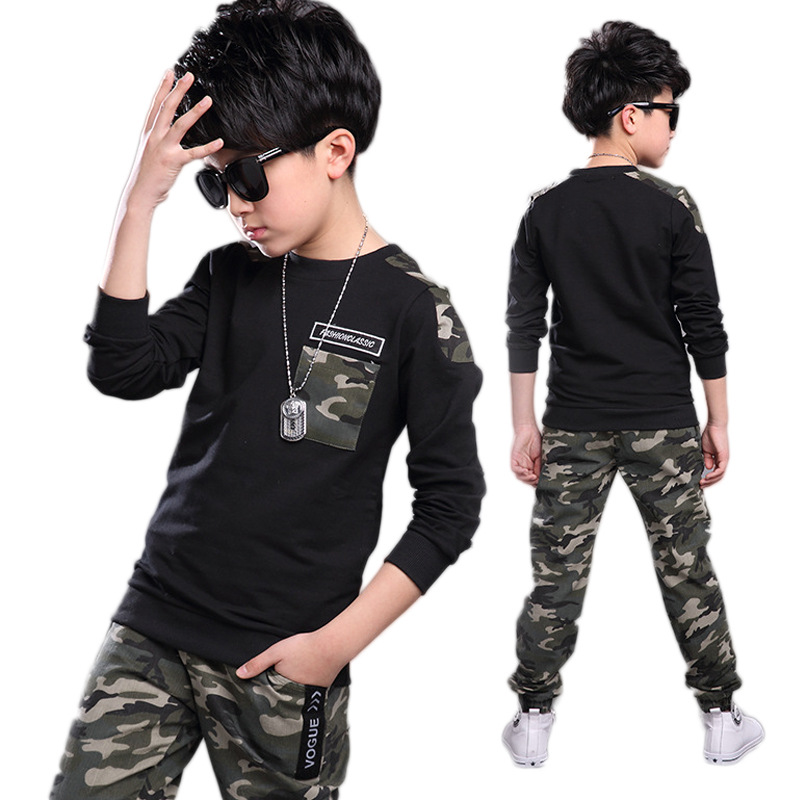 2018 Boys Clothing Set Children Clothing Sets Kids Clothes Boy Suits For Boys Clothes Spring Summer Autumn Kids Sport Tracksuit