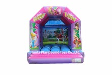 hot inflatable small fairy bouncer