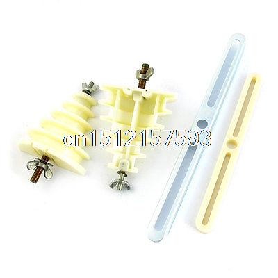 Beige Plastic Single Phase 5 Layer Coil Wire Winding Mould Head Holder niko 50pcs chrome single coil pickup screws
