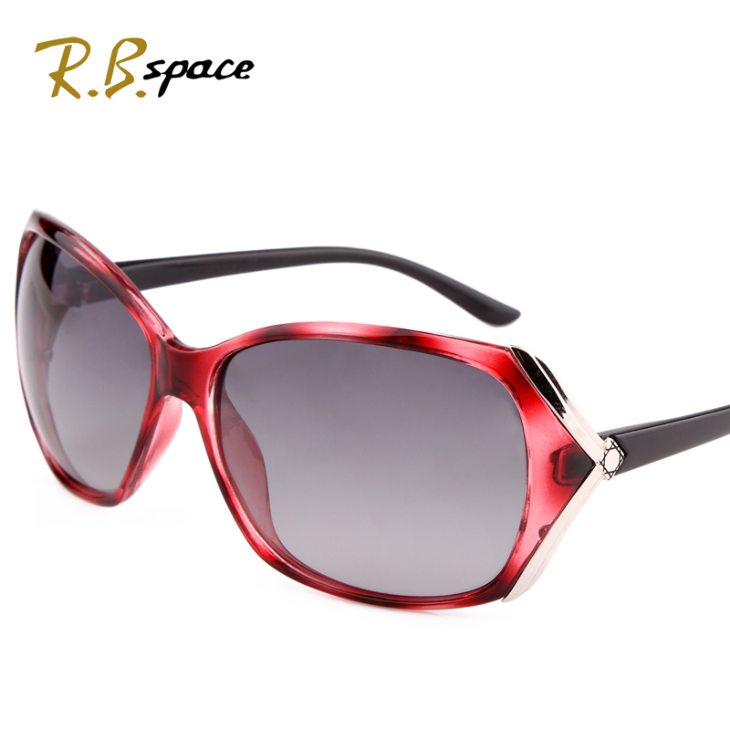 bc44bf61a644 RBspace Brand Sunglasses women's 2017 Fashion female gradient polarized  sunglasses big box trend sunglasses female sunglasses-in Women's Sunglasses  from ...