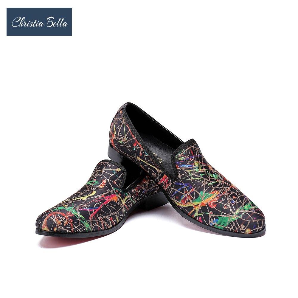 Christia Bella Luxury Men Shoes Black Loafers Leather Men 's Casual Shoes Brand Comfortable Spring Fashion Breathable Men Shoes men s shoes fall new casual men s leather comfortable korean version sub3147