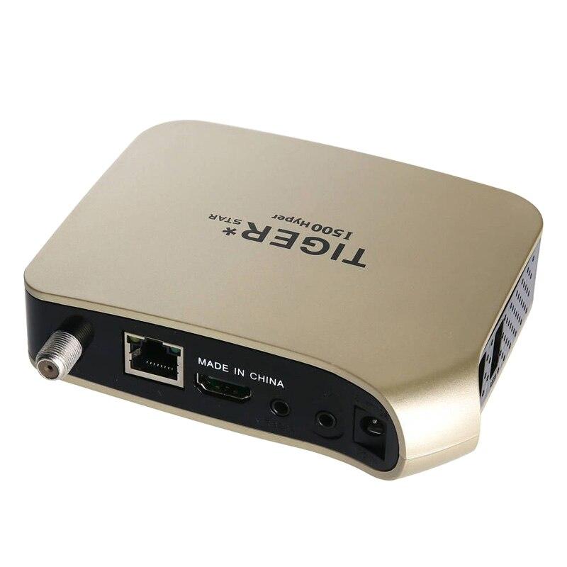 TIGER i500HYPER récepteur prise en charge par Satellite arabe IPTV abonnement 4K affichage HD récepteur de télévision numérique par Satellite récepteur DVBS2 FTA Tuner - 4