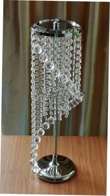 Kristall Deko tisch kristall herz blume ständer hochzeit kronleuchter