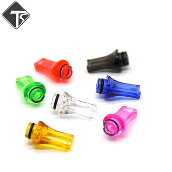 1pc 510 Flat Drip Tip Electronic Cigarette 510 RDA RTA Atomizer Vape Mouthpieces For TFV8 Baby Tank image