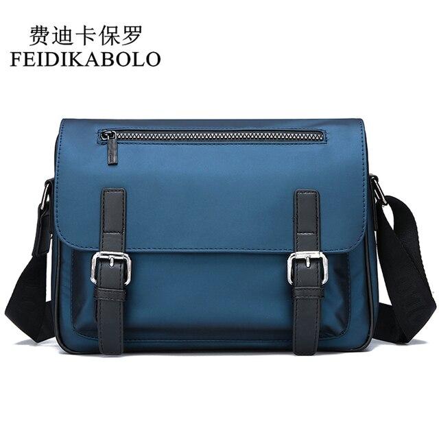7622f79130f8c FEIDIKABOLO Männer Tasche Hohe Qualität Oxford Casual Umhängetasche Neue  Mode Mann Schulter Taschen Business Männlichen Umhängetaschen Paket