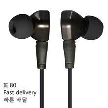 Wysokiej jakości DIY IE80 w ucho słuchawka hi-fi subwoofer słuchawki do komórki zatyczki do uszu słuchawka do telefonu uniwersalny szybka darmowa wysyłka