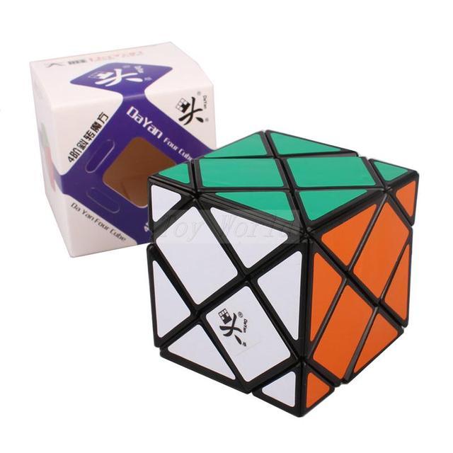 A Estrenar 60mm Dayan Dino Skewb Cubo Mágico Speed Puzzle cubos de Juguetes para el cabrito del Niño Cubo mágico Juguetes kub buena regalo