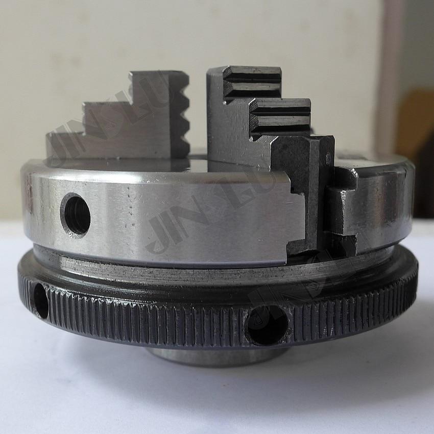 3 állkapocsos mini esztergatokó öncentrikus tokmány SANOU K01-63 - Szerszámgépek és tartozékok - Fénykép 3