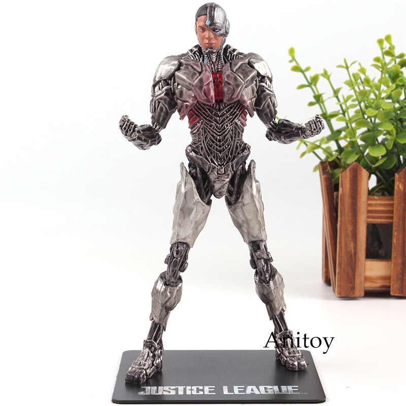 DC Comics Liga Da Justiça Cyborg Batman The Flash ARTFX Superman Mulher Maravilha Estátua Action Figure Toy Model Collection