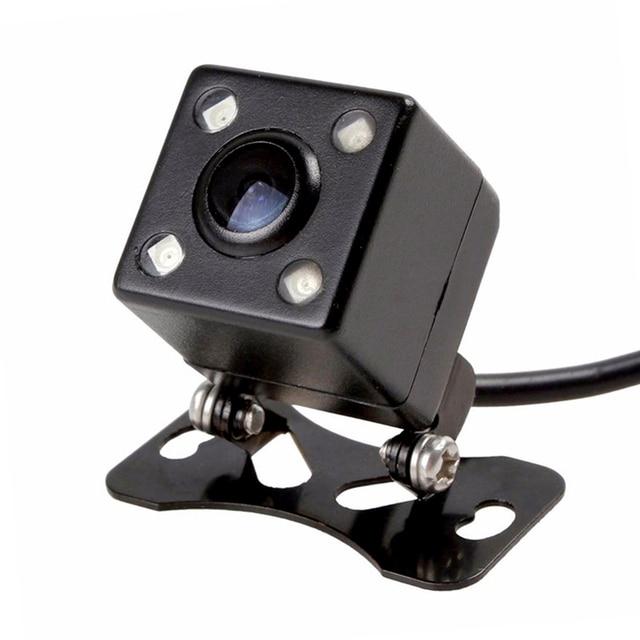 4 LED night vision camera waterproof HD 170 degree parking assist general CCD car back reverse up  camera
