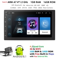 Car NO DVD Player 2din Android for universal Toyota Corolla Auris gps navigation Car Multimedia player automotivo FM AM